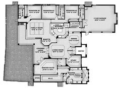 4br 4 bath study, large family room open to kitchen with pantry, huge master closet-  3448 sq ft floorplan