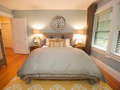 Cozy bed  #HGTV