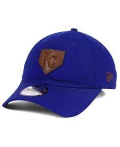 New Era Kansas City Royals The Plate 9TWENTY Cap - Blue Adjustable