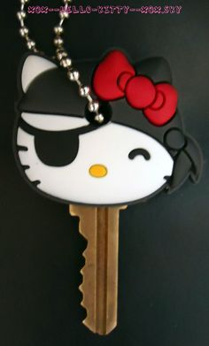Couvres Cles Hello Kitty