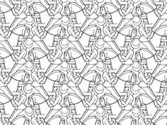 Página para colorir Mosaico de Cavaleiro, por M.C. Escher. Categorias: Mosaicos. Páginas de colorir imprimíveis gratuitamente para uma variedade de temas que você pode imprimir e colorir.