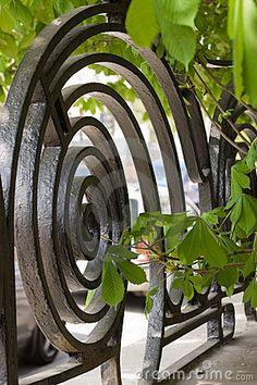 spiral ironwork