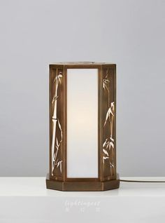 【Lightingest】Zen Chinese style The shadow of the bamboo table lamp【最灯饰】5月新品禅意新中式竹影设计师酒店样板房会所台灯