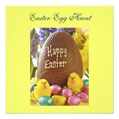 Easter Egg Hunt Invitations Easter Egg Hunt Party Invitation