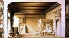 Nozze di Figaro, regia Giorgio Strehler, scene Ezio Frigerio, Teatro Alla Scala