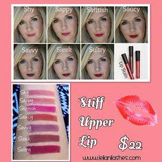 Stiff Upper Lip -lip stains