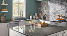 Kitchen Room Scene |  Babylon Quartz Countertop