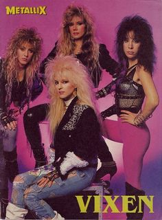 rock Big Hair - The 80 Greatest Fashion Trends 80s Hair Metal, Hair Metal Bands, 80s Hair Bands, 80s Rock Bands, 80s Rock Fashion, Metal Fashion, Style Fashion, Punk Fashion, Lolita Fashion