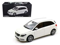 2011 Mercedes B 180 Class White 1/18 Diecast Model Car by Norev