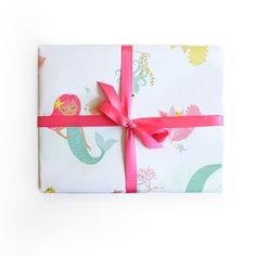 Gift Wrap - Mermaid