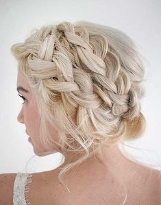 blonde pearl updo - Google Search