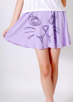 pastel goth skirt