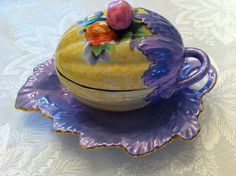 Vintage Jelly Dish Tableware Made In Japan by LollysCubbyhole, $28.00