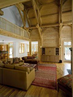 Ski house - family room - Birdseye Design