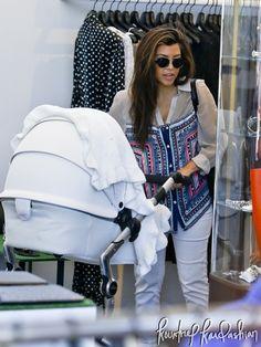 Kourtney Kardashian and Kris Jenner out in Malibu with Mason and Penelope Disick