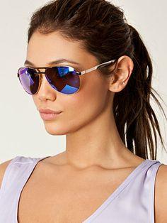 Just Maui'd - Le Specs - Blue/Gold - Sunglasses - Accessories - Women - Nelly.com