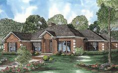 Contemporary House Plan chp-23959 at COOLhouseplans.com
