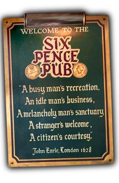 "Six Pence Pub -                       Savannah, GA  7/7/12  SIX PENCE PUB  BEST FOOD of our whole trip! The added bonus of being one of the locations in Julia Roberts' movie, ""Something to Talk About"" just added to the fun!"