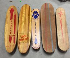 Vintage Skateboard Collection 1960s 5 Boards Included