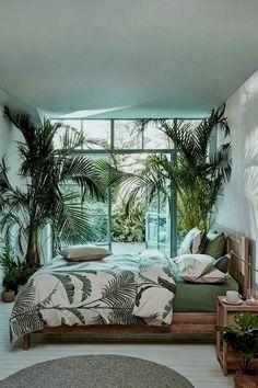 small bedroom design , small bedroom design ideas , minimalist bedroom design for small rooms , how to design a small bedroom Tropical Bedrooms, Bohemian Bedrooms, Boho Bedroom Decor, Bedroom Colors, Design Bedroom, Indie Bedroom, Luxury Bedrooms, Master Bedrooms, Luxury Bedding