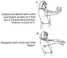 Free carpal tunnel exercises for pain relief