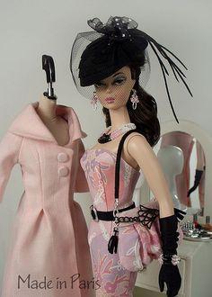 """""""Made in Paris"""" Barbie fashion. Exquisite!"""