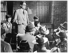 To Kill a Mockingbird - Scout's humility saves her dad and Tom from harm in this scene...