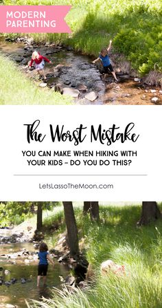 The Worst Mistake You Can Make When Hiking With Your Kids: Do you do this? This small slip, this simple phrase that comes out so easily, can unintentionally... #OFFAlwaysOn #Sponsored *I am so guilty of this! Great read for parents.
