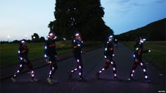 Speed of Light will be performed each night for three weeks. The performance takes place on Arthur's Seat, an extinct volcano located close to Edinburgh city centre.
