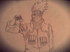 He's the coolest of all coolest... (Probably cause some people might disagree). He's the one and only Kakashi Hatake of the Naruto series :) btw Naruto is my favorite anime of all time!