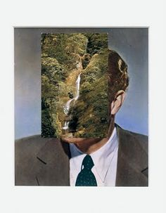 Collage art by John Stezaker. Collage Book, Collage Drawing, Collage Illustration, Collages, Photomontage, John Stezaker, Monochrome, Eugenia Loli, Art Optical
