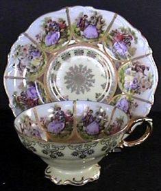 Vintage Tea Cups - Tea Pots- Tea Sets c1955 German Teacup Antiques & Collectibles