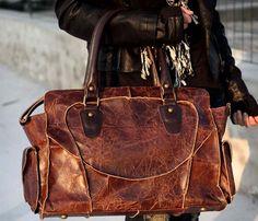 Handmade Leather Handbag.