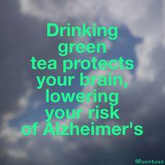 Green tea benefits!