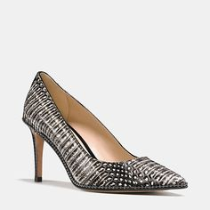 Shop The COACH Smith Beadchain Heel In Snake. Enjoy Complimentary Shipping & Returns! Find Designer Bags, Wallets, Shoes & More At COACH.com!