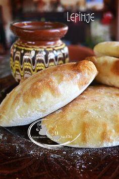 Bulgarian Bread Recipe, Bulgarian Recipes, Croatian Recipes, Russian Recipes, Bulgarian Food, Pita Recipes, Gourmet Recipes, Bread Recipes, Cooking Recipes