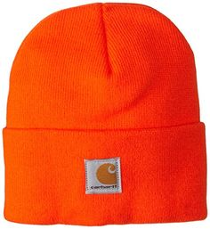 Shop online Carhartt Kids' Acrylic Watch Hat, Brite Orange, Toddler. Explore our Boys Fashion section featuring new #shopping ideas of the best collection of #BoysFashion #BoysWatches and #fashion products online at #Jodyshop Marketplace.