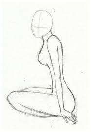 Bildergebnis für draw girl body from side