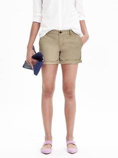 Chino Roll-Up Short