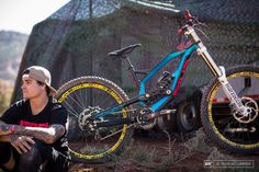 RE-PIN THIS!    Andreu Lacondeguy and his YT Industries Tues 2.0 at Red Bull Rampage, Utah, United States