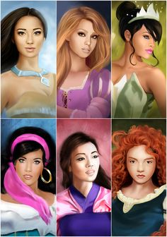 My Disney Princesses 2 by MartaDeWinter.deviantart.com on @DeviantArt