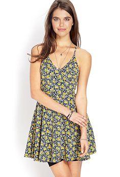 Garden Chic Surplice Dress | FOREVER21 - 2000064197