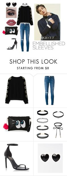 """""""Went to Kai's Photoshoot"""" by poisonivy19 on Polyvore featuring Frame, IMoshion, Yves Saint Laurent and Lime Crime"""