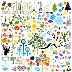 植物・動物・お花など無料イラスト(クリップアート)素材集 - Free-Style