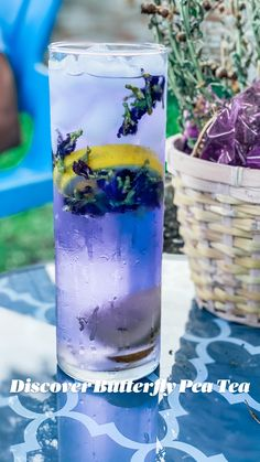 Healthy Food Choices, Good Healthy Recipes, Healthy Drinks, Refreshing Drinks, Summer Drinks, Tea Cocktails, Tea Drinks, Beverages, Butterfly Pea Flower Tea