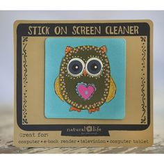 Stick On Laptop Screen Cleaners From Natural Life