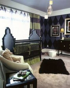This is how my little boys room will be done! Going to add a hint of a monster theme.