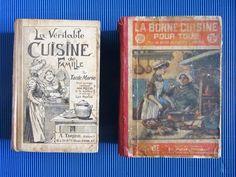 2 livres de cuisine anciens début XXe FOR SALE • EUR 15,00 • See Photos! Money Back Guarantee. ouvrages de référence. 142488440890