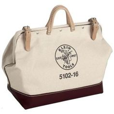 Klein Tools 16 in. Canvas Tool Bag-5102-16 at The Home Depot