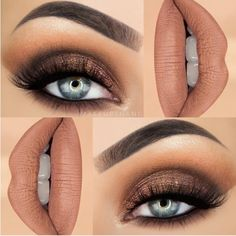 Gorgeous Makeup: Tips and Tricks With Eye Makeup and Eyeshadow – Makeup Design Ideas Eye Makeup Steps, Natural Eye Makeup, Smokey Eye Makeup, Eyeshadow Makeup, Lip Makeup, Eyeshadows, Beauty Makeup, Makeup Goals, Makeup Inspo
